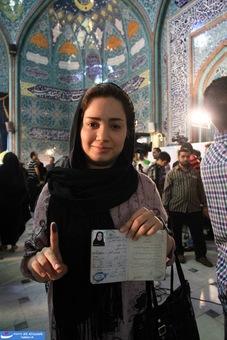 مردم انتخابات ایران+عکس