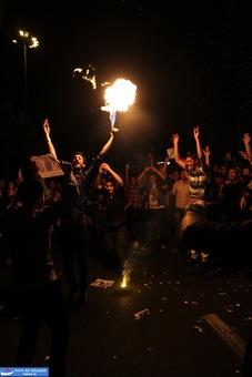 resized 264335 936 تصاویر : شادی مردم پس از اعلام نتایج آرا