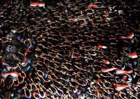 تجمع مخالفان مرسی در التحریر