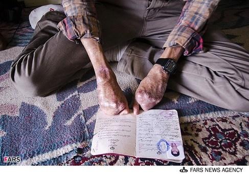 شناسنامه سید علی حسینی برای اعزام درمانی به تهران