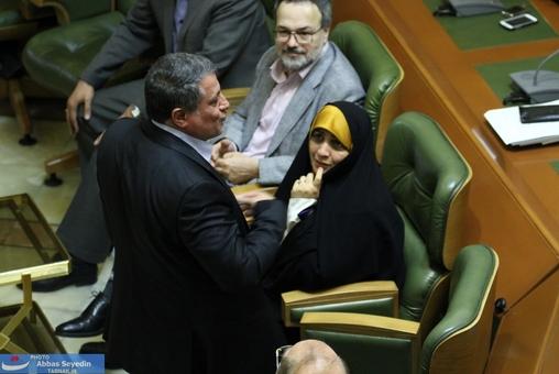 وقتی هاشمی به شهروند معترض گفت باید مشکل خود را از آقای قالیباف پیگیری کنید نه بنده!