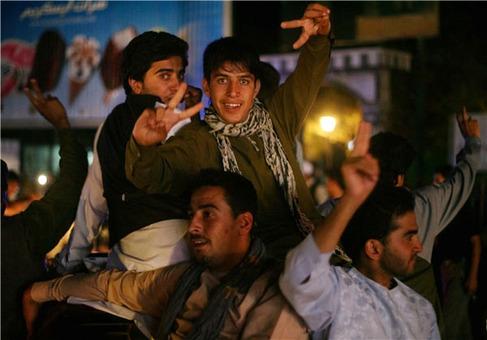 شبی که افغانستان نخوابید+عکس