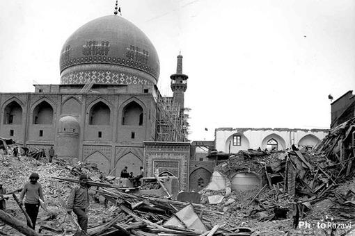 مسجد گوهرشاد سال 1353