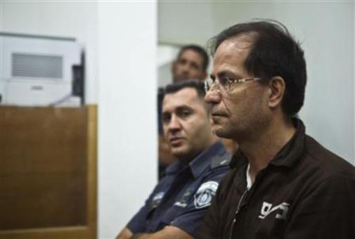 عکس مرد ایرانی-بلژیکی متهم به جاسوسی در دادگاه