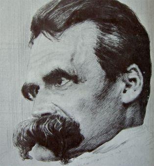 فردریش نیچه، فیلسوف آلمانی قرن نوزدهم – وی یکصدو سیزده سال پیش بر اثر بیماری روانی درگذشت<br />