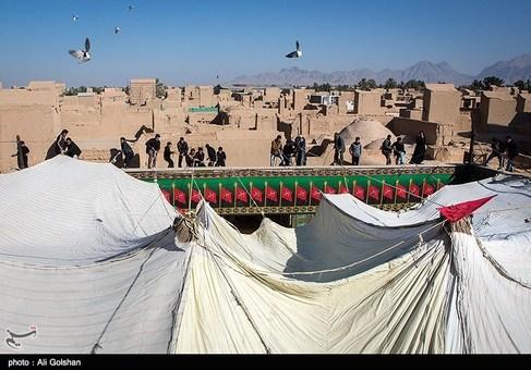 مراسم پوش کشی حسینیه چرخاب-یزد