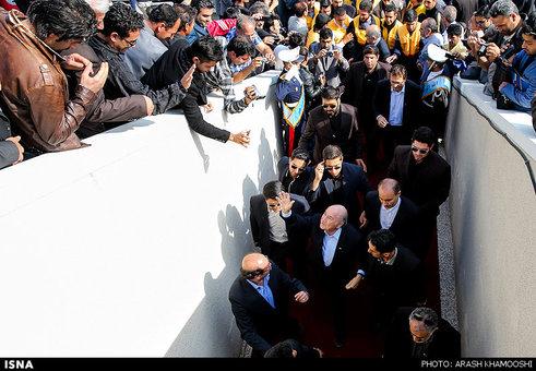 مراسم افتتاحیه فستیوال مدارس فوتبال ایران