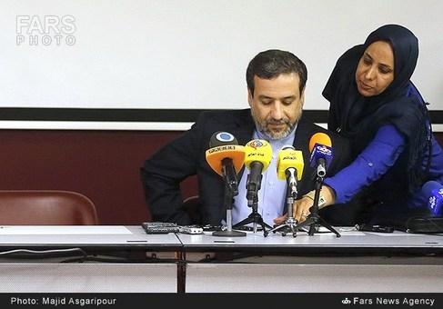 نشست خبری سیدعباس عراقچی مذاکرهکننده ایرانی