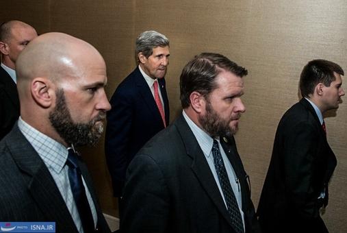 ورود جان کری برای دیدار با ظریف و اشتون با وزرای ۱+۵ در روز سوم مذاکرات