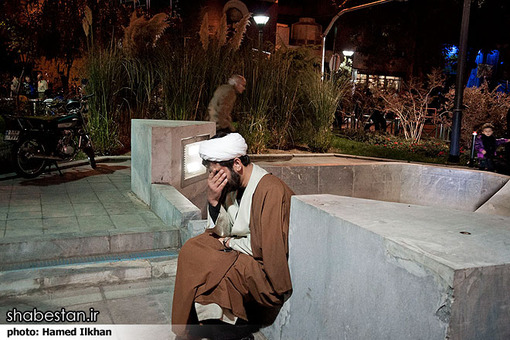 عزاداری دهه محرم در مسجد ارک تهران