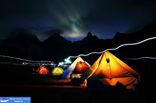 « Huayhuash»: پرو؛ عکاس: Sorin Rechitan  شرح عکس: گرفتن عکس در کمپ