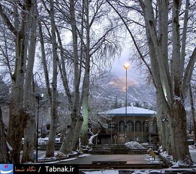 پارک سیفیه در زمستان