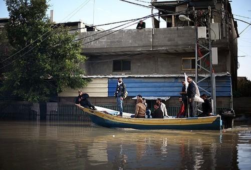 سیل در غزه در بعضی نقاط این شهر جاذبه نیز ایجاد کرده.بطور مثال برخی خیابانها شبیه به ونیز شده اند Anadolu agency