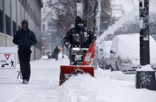 سرمای شدید در شمال شرق ایالات متحده، موجب ایجاد وضعیت اضطراری شده است-reuters