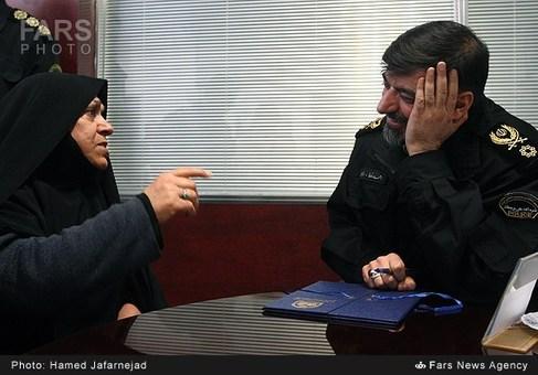 دیدار مردمی سردار احمدرضا رادان جانشین فرمانده نیروی انتظامی در سامانه ۱۹۷