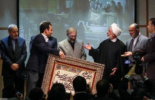 انصاری و  محمد جواد لاریجانی و رحمانی فضلی