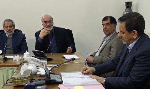 جلسه ستاد مبارزه با مفاسد اقتصادی عصر دوشنبه به ریاست اسحاق جهانگیری معاون اول رییس جمهور برگزار شدIRNA
