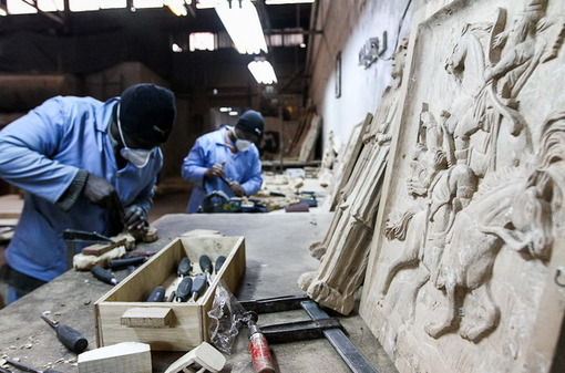بازدید از کارگاه های تولیدی بازداشتگاه اوین/ایسنا
