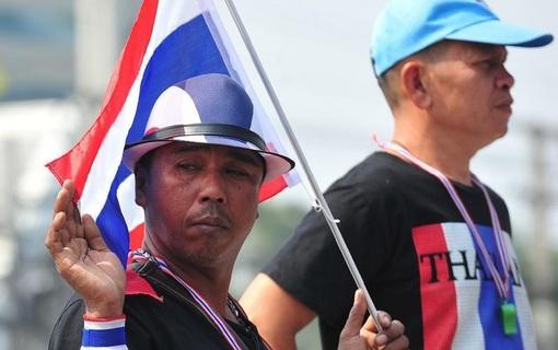 معترضان ضد دولتی در بانگوک / شینهوا