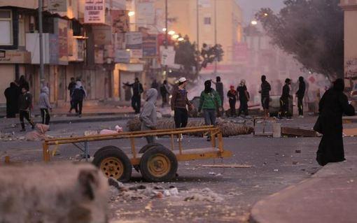 ادامه اعتراضات مردم شیعه مذهب بحرین به اقدامات پلیس /شینهوا<br /><br />