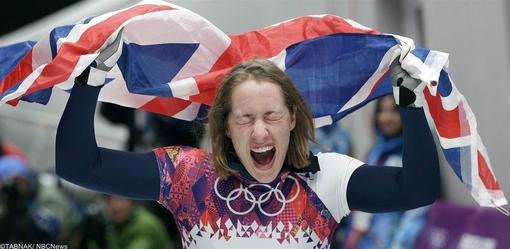الیزابت یارنولد از بریتانیا در ماده اسکیت سرعت زنان توانست مدال طلا را برای اردوی ورزشی انگلیس به ارمغان بیاورد