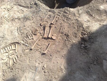 اندازه استخوانهای کشف شده در نبش قبر نشان میدهد که به کودکی سه روزه تعلق ندارند