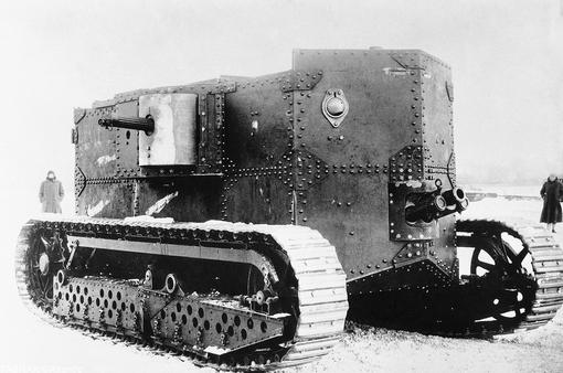 تانک برق-بنزینی آمریکایی سنگین و بسیار نا کارآمد که در جریان جنگ از آن استفاده چندانی نشد