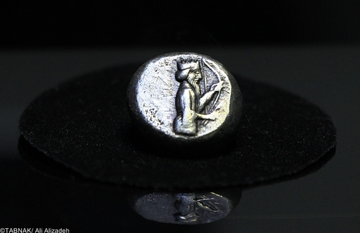 سیگلوس - نخستین سکه نقره ایران - داریوش اول - ۴۸۶-۵۲۱ پ م - ۶۰. ۵ گرم