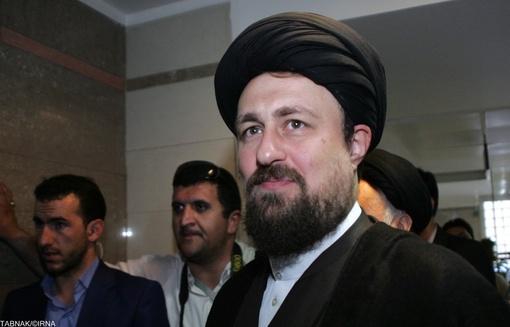 حضور حجت الاسلام سیدحسن خمینی نوه امام (ره)