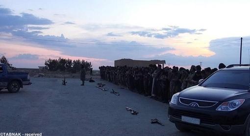 نماز جماعت تروریستها