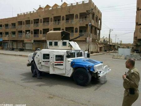 ارتش عراق و حضور در مناطق تخلیه شده استان نینوا
