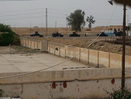 ورود تیپ زرهی ارتش عراق به منطقه درگیری