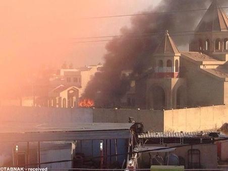 انفجارهای پی در پی در موصل