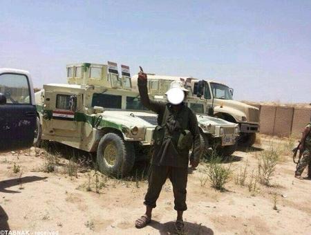 غنائم بدست آمده از ارتش عراق
