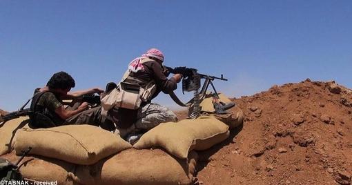 استفاده از تیربارهای سنگین علیه مواضع ارتش عراق
