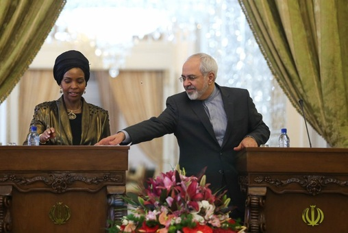 دیدار و نشست مطبوعاتی وزیران خارجه ایران و آفریقای جنوبی/ISNA