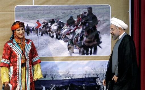 دیدار رییس جمهوری با عشایر و روستاییان استان لرستان/IRNA