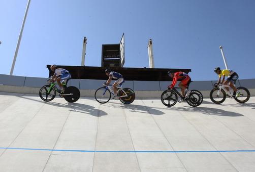 مسابقات دوچرخه سواری قهرمانی جوانان کشور، روز شنبه در پیست مجموعه ورزشی آزادی برگزار شد./IRNA