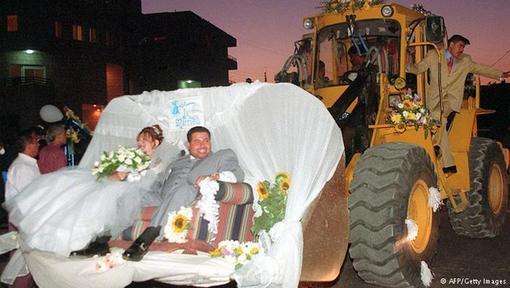 عجیب ترین عروسیها در دنیا