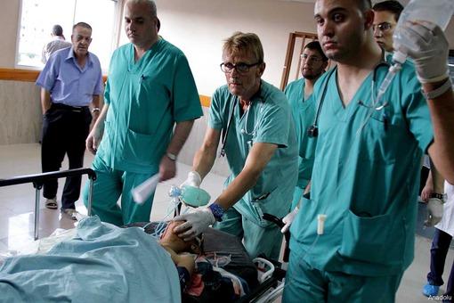 نامه تکان دهنده پزشک بیمارستان غزه