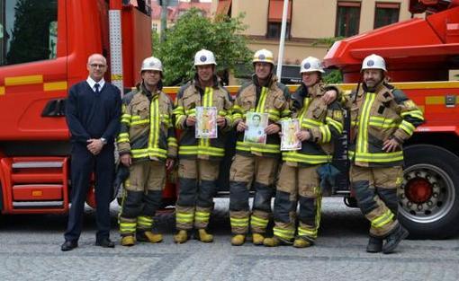 آتش نشانان سوئدی