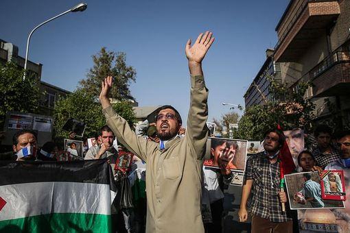 تجمع اعتراض به حمایتهای فرانسه از رژیم صهیونیستی /ISNA