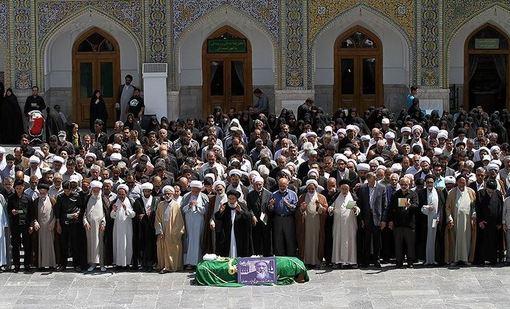 تشییع پیکر آیتالله عطاردی قوچانی در مشهد /TASNIM