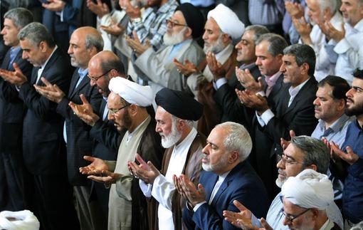 حاشیه نماز جمعه تهران در روز جهانی قدس/IRNA