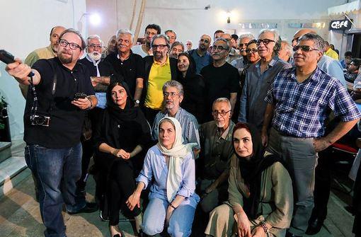 مراسم تولد مسعود کیمیایی در حاشیهی داوری جشن خانهی سینما./ISNA