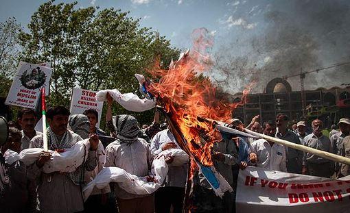 راهپیمایی نمازگزاران جمعه تهران در اعتراض به جنایات رژیم صهیونیستی در غزه/MEHR