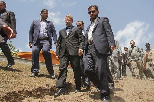 حضور علی لاریجانی در یادواره سرداران و ۸۸ شهید منطقه دلارستاق؛ روستای ناندل آمل/ISNA