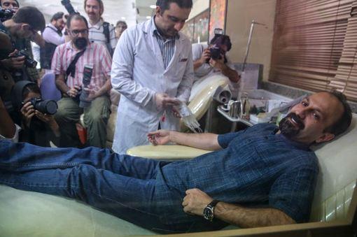 اهدای خون سینماگران به مردم غزه/ISNA