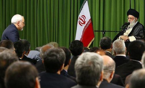 دیدار سفرا و رؤسای نمایندگیهای ایران در خارج از کشور با مقام معظم رهبری./TASNIM