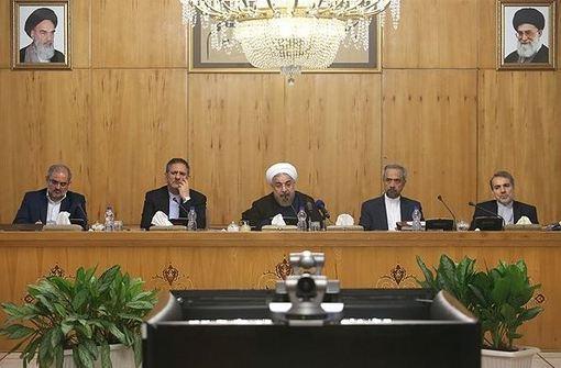 نشست هیأت دولت صبح چهارشنبه با حضور حجتالاسلام حسن روحانی، رئیسجمهور برگزار شد./FNA